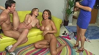 Mommy and Daughter get caught