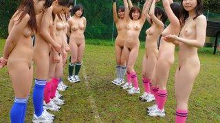 Some really fantastic Japanese soccer girls