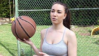 Ball girl sucking black cock