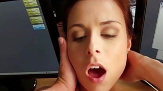 Czech babe picked up and fucked for cash
