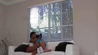 Horny ebony teens surprised sending naughty photos