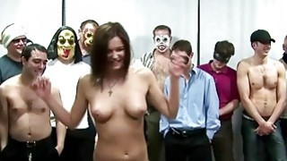 Czech Girl Gets To Feel What Its Like