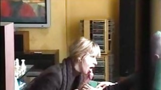 Blow job from Mature French teacher Lilou