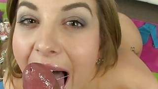 Smutty sweetheart is addicted to vehement fucking