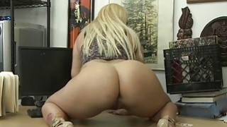 Fat and busty woman gets fucked hard