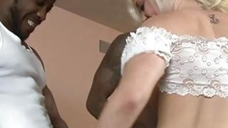Kinky babe Whitney Grace DP by massive black cocks