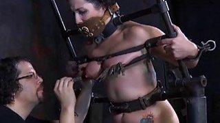 Hottie is suffering pain pleasures
