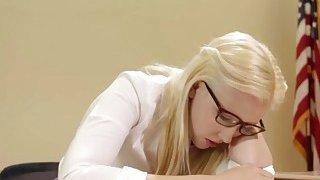 Blonde Schoolgirl Samantha Rone Tries Anal With Lesbian Teacher Dana Vespoli