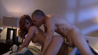 Nice facial after crazy doggystyle fucking for Kirsten Price