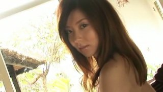Angelic Japanese chick China Fukunaga has a big juicy ass
