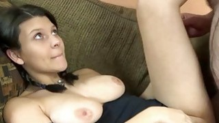 Brianna Stars takes all the cum on her ass