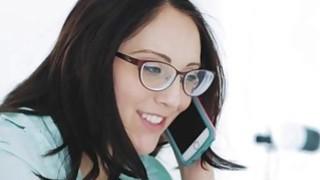 Kinky nerd ass fucked by a BBC